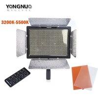 YONGNUO YN600L YN 600 LED Video Light 3200k 5500k Color Temperature Adjustable 600 LEDs For Canon Nikon Camera Camcorder