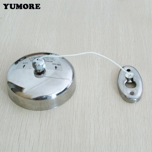Yumore Wall Mounted Clothes Drying Line 304 Stainless Steel