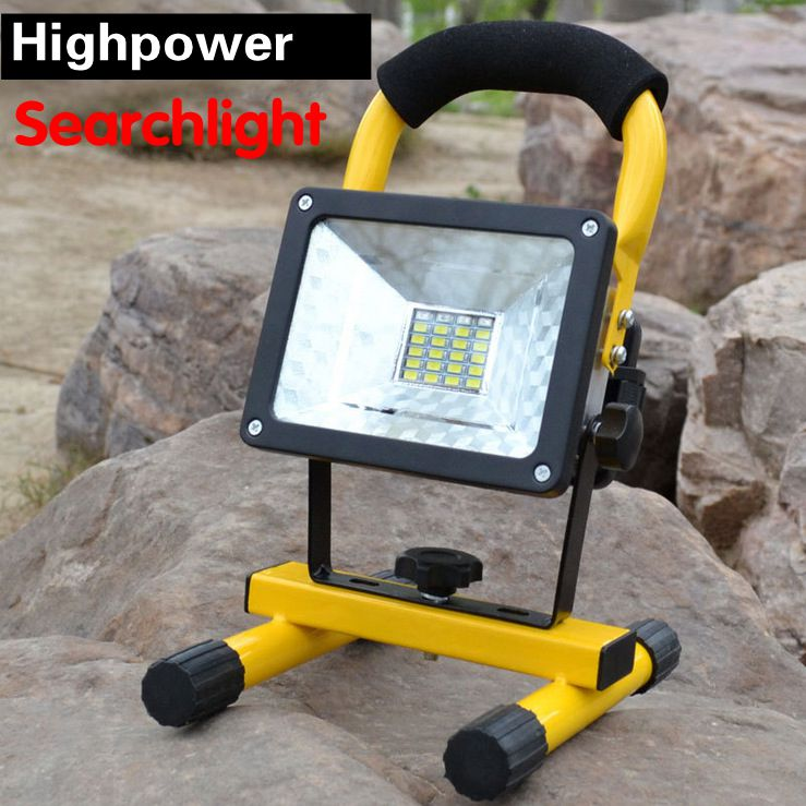 2016 highpower 20 led multi-function searchlight emergency light camping lamp torch with red and bule Warning lights