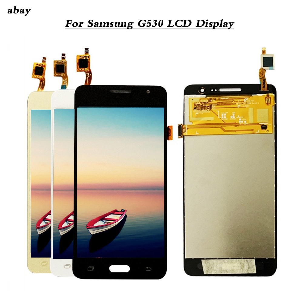 LCD For <font><b>Samsung</b></font> Galaxy Grand Prime <font><b>G530</b></font> G530F G530H LCD <font><b>Display</b></font> Touch Screen Digitizer Assembly For <font><b>Samsung</b></font> <font><b>G530</b></font> 5.0 inch image