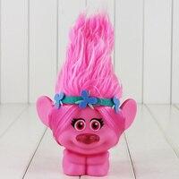 22 cm Film Troll Poupée Leprocauns Barrage poupées Trolls Pavot Avec La Lumière PVC Action Figure Collection Modèle Jouet Avec la Boîte