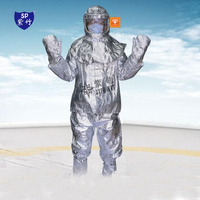 Утепленная одежда анти горячий костюм пожарного пожарной безопасности рабочая одежда 1000 утепленная одежда