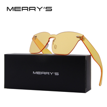 MERRY'S Fashion Candy Cat Eye Sunglasses For Women Oversized Shades UV400 S'8087