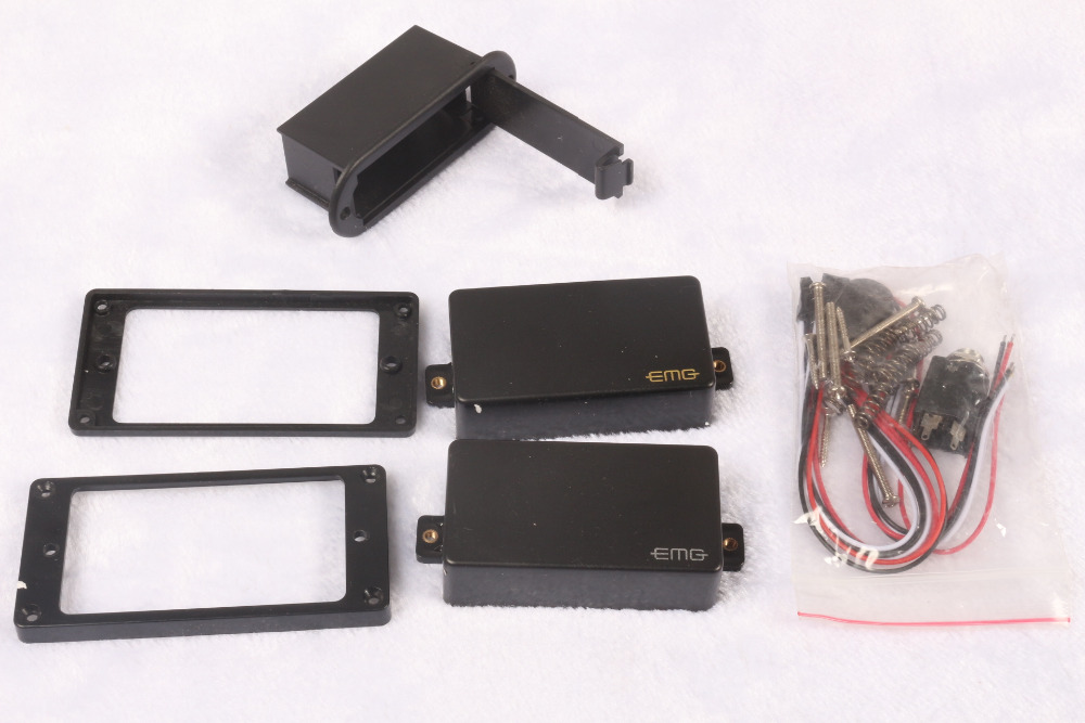 EMG 81/85 activa Pickups Free shipping In Stock High Output two pieces EMG pickups free shipping 5pcs p13hdmi 413ae in stock