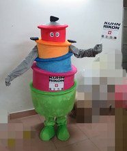 Good visual top sale lovely rice cooker costume adult electric cooker mascot costume