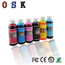 OSK Edible Ink For Epson Printer Edible Ink Edible Pigment Six-Color Ink 1000ml 6 edible ink suit for epson