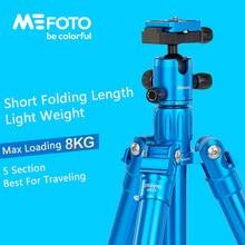 MeFoto MF25 Tripod Reflexed Monopod Selfie Stick Mini Portable Tripod For Camera With Ball Head 5 Section DHL Free Shipping