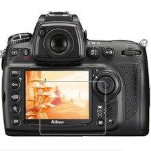 Закаленное стекло Защитная Крышка для Nikon D7000 D700 D300 D90 DSLR камера ЖК-дисплей экран защитная пленка защита