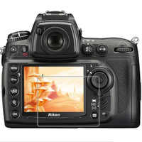 Tempered Glass Protector Guard Cover for Nikon D7000 D700 D300 D90 DSLR Camera LCD Display Screen Protective Film Protection