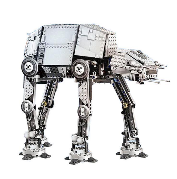 Lepin 05050 Star War Series AT-AT the Robot Electric Remote Control Building Blocks Toys 1137pcs Compatible 10178 конструктор lepin star plan бронированный шагоход at at 1137 дет 05050