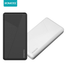 Dual USB Charging Power Bank 10000mAh Portable External Battery Phone Charger ROMOSS Batterie Externe for Samrtphone Charger
