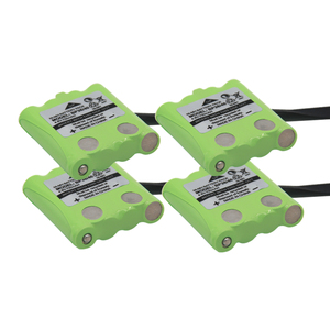 4 Pack NI-MH Battery Replacement For Uniden Radio BP-38 BP-40 BT-1013 4.8V 700mAh For MOTOROLA TLKR T4 T6 T8 Cordless(China)