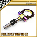 Car-styling Thread Neo Chrome JDM Racing Tow Hook Rally Drift For Japan Vehicle Universal Fitting