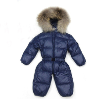 2018 Baby Winter Clothes Girl Romper Warm jumpsuit baby overalls Long Sleeve Hooded Outerwear Snowsuit baby boy winter overalls