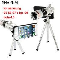 SNAPUM Handy handy 18x Camera Zoom optische Teleskop teleobjektiv für samsung-anmerkung 4 5 galaxy S4 S5 S7 rand S8