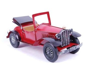 Personality iron gifts large vintage car model 0088 Wrought iron crafts, gifts