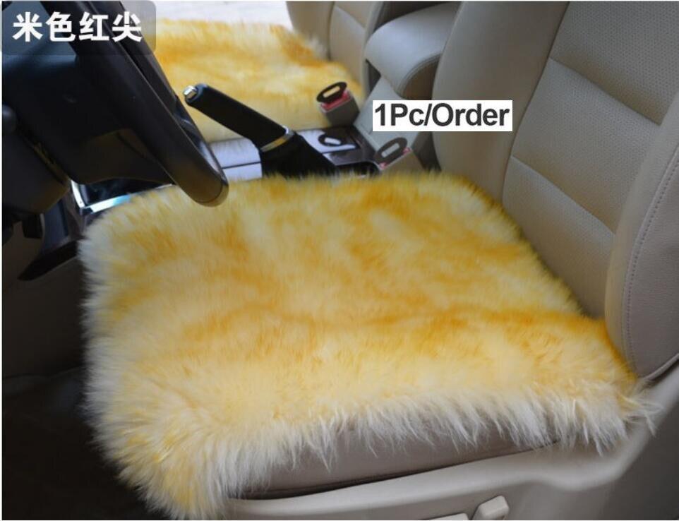 Australië Schapenvacht Luxe Bont Kussen/wol Covers Voor Autostoel Innerlijke Decoratieve Gooi Kussen Sofa