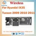 Беспроводная 1/4 цвет CCD камера заднего вида / парковка камера для Hyundai IX35 Tucson 2009 2010 ночное видение / 170 град.