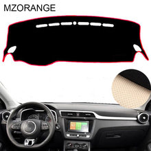 MZORANGE Car Dashboard Cover Lightproof Pads Auto Accessories for MG ZS 2017 2018 Left Hand Drive High Quality