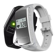 Музыка Спорт Смарт-браслет F50 с Фитнес сна сердечного ритма Мониторы Поддержка 32 ГБ TF карты MP3 громкой связи Bluetooth автомобиля гарнитура