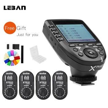 Godox XPro-C Flash E-TTL HSS 2.4G Wireless X System Trigger + 4x XTR-16 Receiver with  for Canon DSLR Godox V850C V860C telephony
