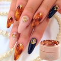 Nail Art  Amber Looks LED UV Nail Polish Gel Color Nail Art Decoration Beauty Tools Soak Off Nail Painting Gel