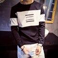 2016 Autumn Long Sleeve T Shirt Men Clothes Baseball Rock Hip Hop Skateboard Mens T-shirt Plus Size Tshirt Homme Mens Clothing