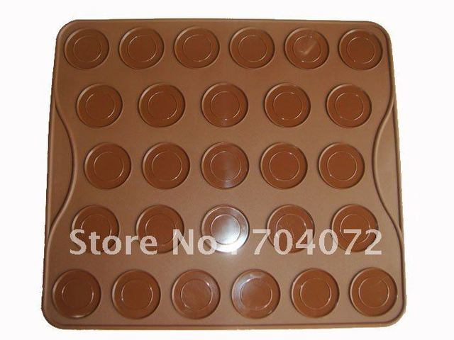 wholesale- 50pcs 2012NEW! Small size For Baking at Home Oven applicable11.5in*10in Macaron silikon matta Silicone Mat