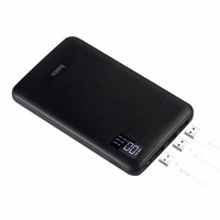 30000mAh Charger Case Power Bank LCD Display 3 USB Rapid Charge Backup External Battery For Smart