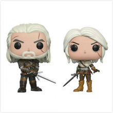 Funko Pop Anime The Witcher 3 Wild Hunt Geralt PVC Action Figure Movie Collectible Model Kids Doll Toys