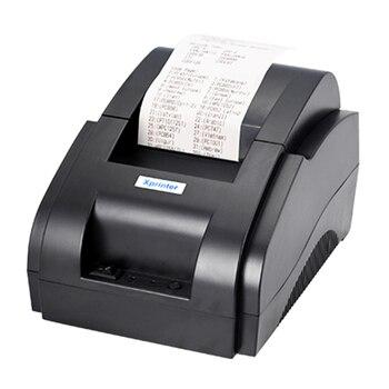Terow принтеры 2018 для XP-58IIH Ресторан Супермаркет Костюмы общие Поддержка 58 мм Ширина печать электронных