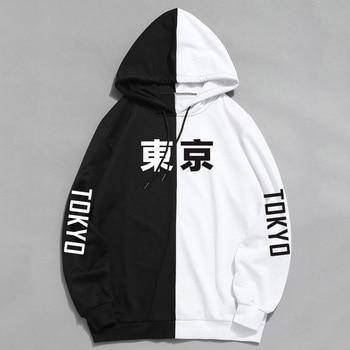 2019 Summer New Arrival Cool Tokyo City Printing Harajuku Pullover Hoodies Hip Hop Thin Sweatshirt Hoodie Sudadera Hombre 1