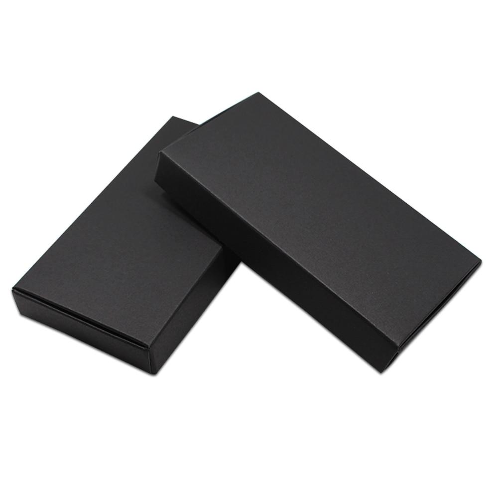 20pcs / Lot Black Cardboard Boxes Blank Kraft Paper Carton Box - Fest utstyr - Bilde 5