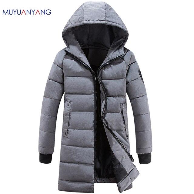 Aliexpress.com : Buy Mu Yuan Yang Winter Long Snow Jackets 2017 ...