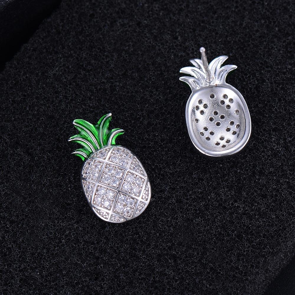 SISCATHY Classic AAA Cubic Zirconia Women Earrings Fashion Jewelry African Nigerian Wedding Stud Earrings For Women Accessories in Stud Earrings from Jewelry Accessories