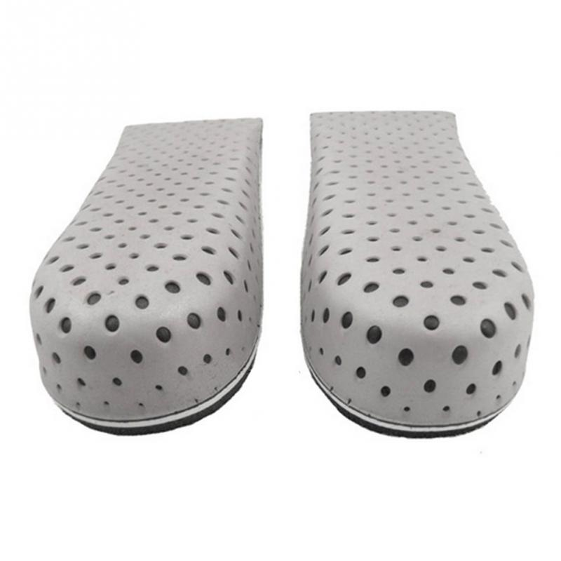 1 Pair Newest Unisex Increasing Orthotics Insole Lift Insert Pad Height Cushion Taller Male Footwear Women Shoes High Insoles 5 in Insoles from Shoes