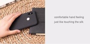 Image 5 - 100% Chính Hãng Xiaomi Mi 8 Ốp Lưng Xiaomi Mi 8 Bao Da chống trầy xước Lưng Silicon mềm lưng Bao Da bền cao su chống sốc