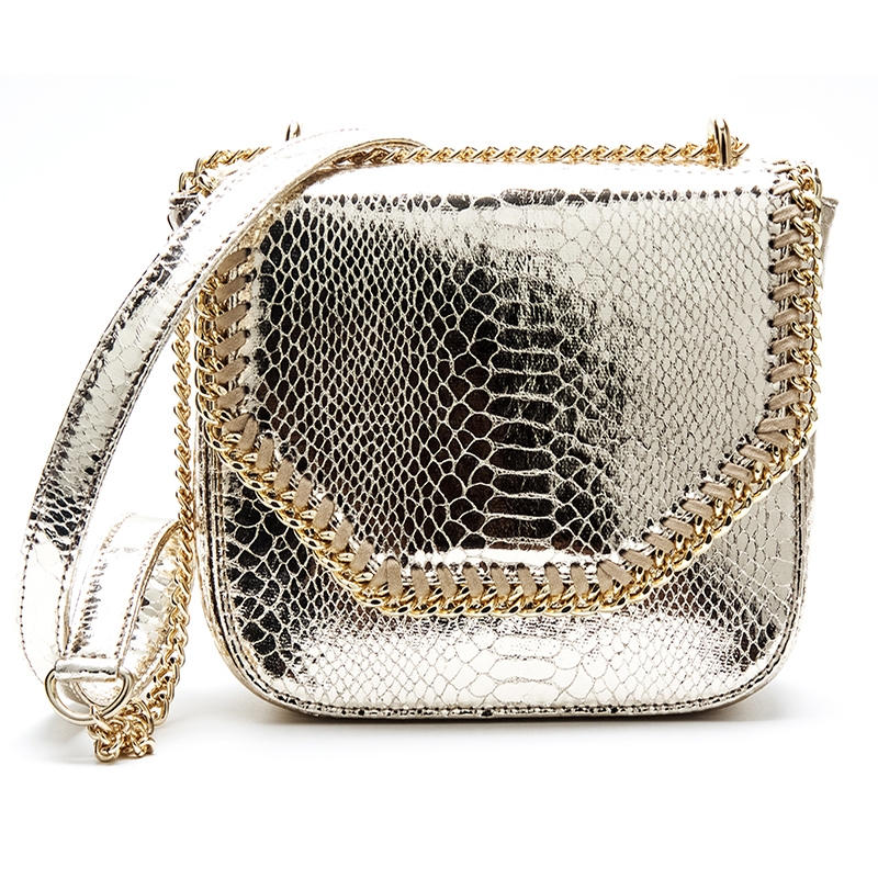 Snake Pattern Ladies Leather Day Clutches Fashion Purses and Handbags Shoulder Messenger Bag PVC Crossbody bag for Women R1