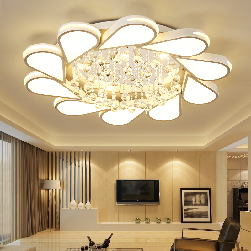 2018 Abajur Modern Led Ceiling Lights For Living Room Bedroom Ac85-265v Luster Lamparas De Techo Avize Light Fixtures Fixtur modern simplicity acrylic led ceiling lights lamparas de techo ac85 260v ceiling lamp for bedroom living room luminaria luster