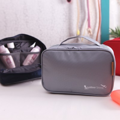 Free shipping BF010 Multifunctional fashionable travel Oxford cloth hook wash package tourism travel bag storage bag 23 15 7cm in Storage Bags from Home Garden