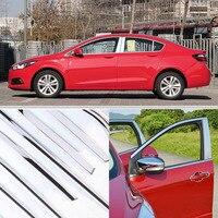 Chevrolet cruze 2015 용으로 장착 된 창 기둥 창틀 몰딩 트림 세트|window sill|window trim moldingwindow molding -