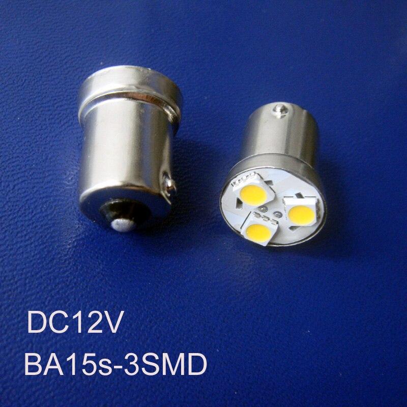 High Quality 12v Ba15s 1156 1141 R5w Led Car Rear Lights,tail Lamp Py21w P21w Car Led Side Turn Signals Free Shipping 200pcs/lot Light Bulbs