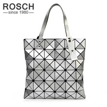 Japanese  Women BAO BAO Bag Geometry Style Luxury Brand Ladies Shoulder Bags Top Quality PU Leather Baobao Casual Handbag Totes