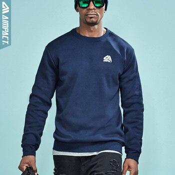 AIMPACT Baumwolle Unisex Fleece Hoodies 2018 Neue Mode Casual Sweatshirts Marke Kleidung Herbst Pullover für Männer und Frauen AM4023