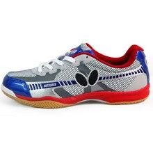Анти-скользкие износостойкой спортивный теннис настольный крытый дышащий спортивная кроссовки детей обувь
