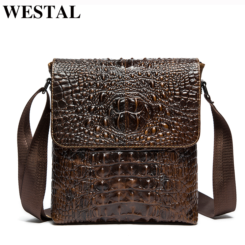 150ba1a25658 WESTAL мужская сумка через плечо из натуральной кожи мужские сумки мужские  кожаные мужские сумки-мессенджеры