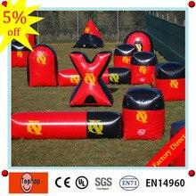 Игрушечные ворота Пейнтбольный барьер, надувной воздушный бункер, надувной для пейнтбола, воздушное поле для продажи
