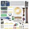 Starter Kit Step Motor Servo 1602 LCD Resistance Photoresistor Flame Sensor LM35 Breadboard Jumper Wire For