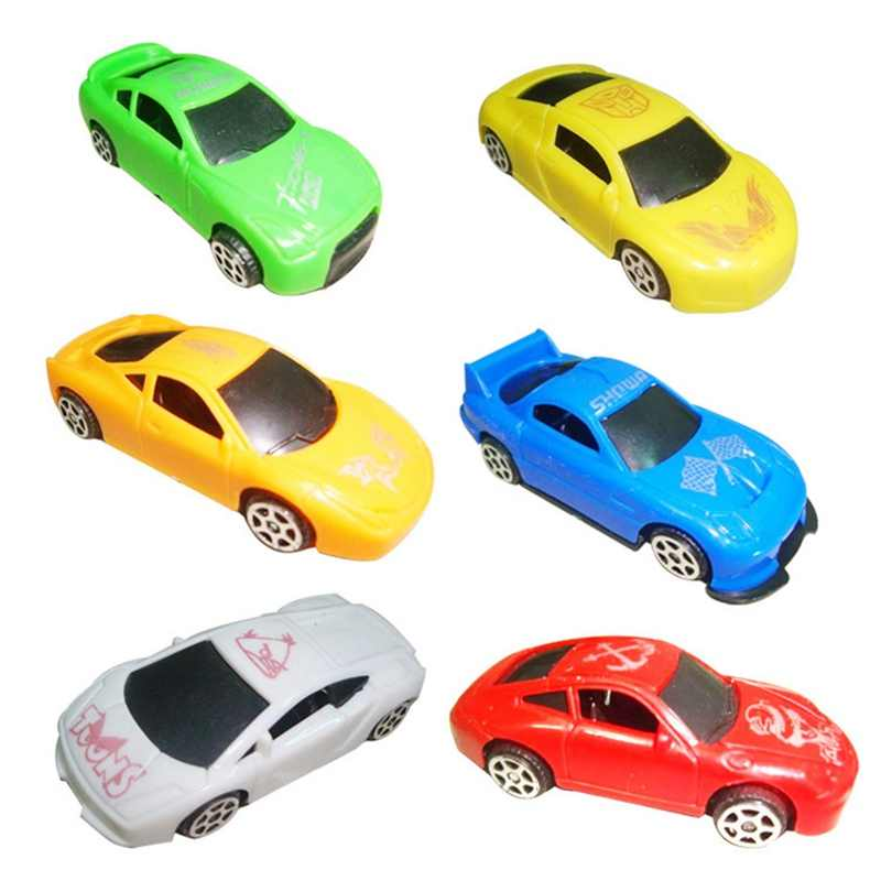 1 pcs Mini Racing Kendaraan Mini Tarik Kembali Mobil plastik Model Anak Anak Hadiah Mainan