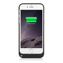 2017 Hot Selling Battery Charger Case For Apple iPhone 7 ip7 8 3200 mah 7plus 4000mAh Back Clip Battery Charging PowerBank Case